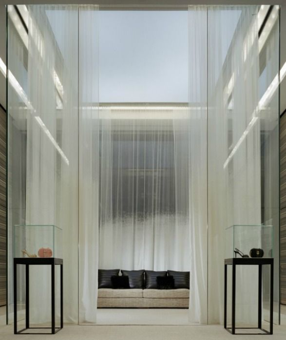 Interior of the Chanel store on 57th Street, New York by Peter Marino