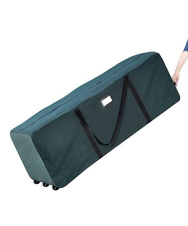 Another great find on #zulily! Green Premium Rolling Duffel Christmas Tree Storage Bag #zulilyfinds