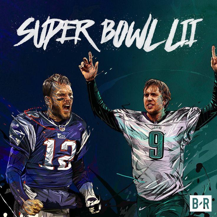 Super Bowl 52 - Patriots and Eagles