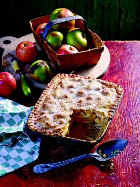 There's a saying in Yorkshire that 'apple pie without cheese is like a kiss without a squeeze.'
