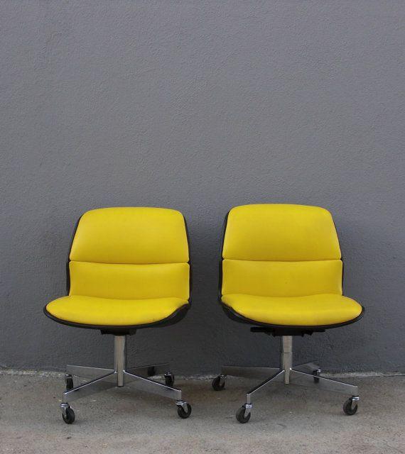 Schreibtisch Drehstuhl Mitte Jahrhundert von DesignEclectique, $95.00