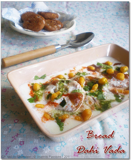Bread Dahi Vada