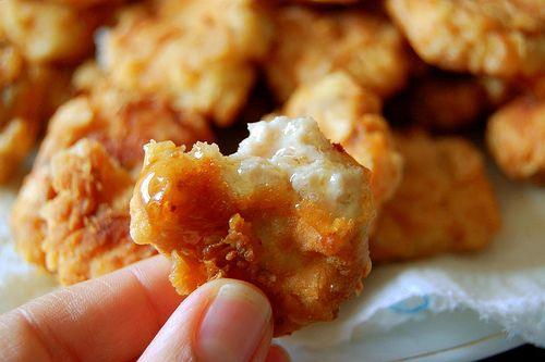 Baked Honey Mustard Chicken Fingers
