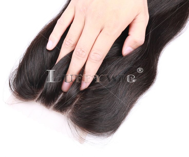 three part lace closure LUFFYWIG
