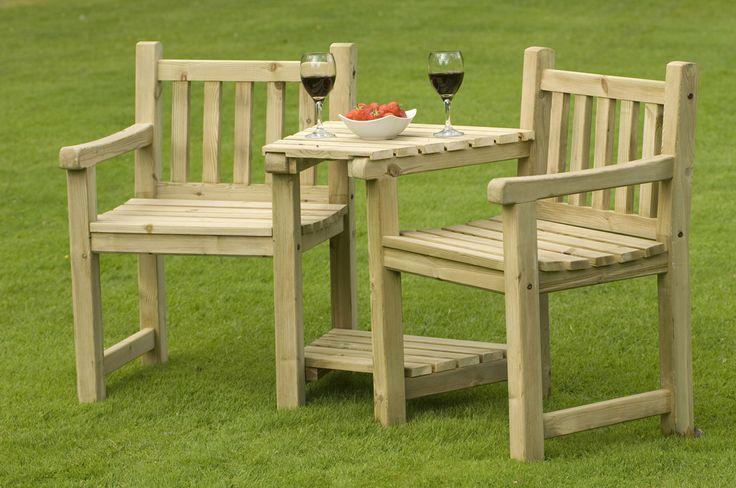 126 best wooden garden furniture images on Pinterest Woodworking