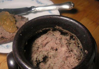 Herkkusuun lautasella-Ruokablogi: Maksapasteija