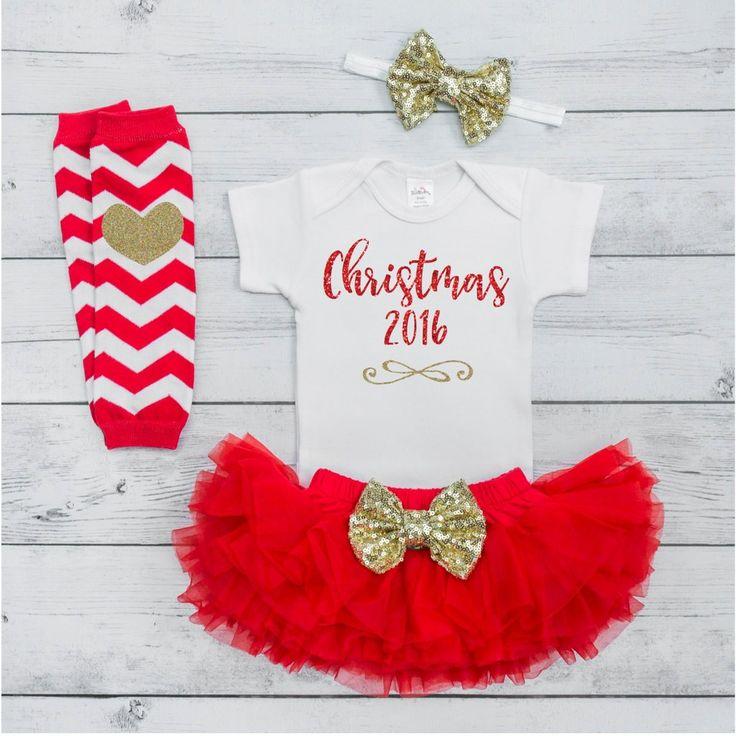 25+ parasta ideaa Pinterestissä: Newborn christmas outfits ...