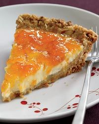 Yogurt and Apricot Pie with Crunchy Granola Crust Recipe