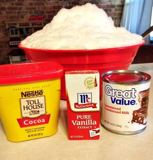 Chocolate Snow Ice Cream