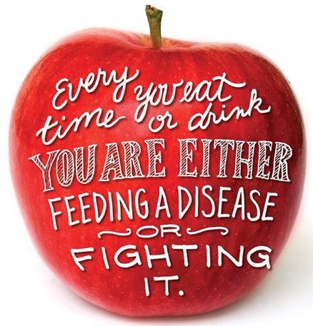 Feed Disease or Fight It!   Japple A Day Blog
