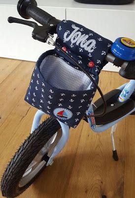 KreaKind: Pimp my PUKY - eine Lenkertasche für das Laufrad