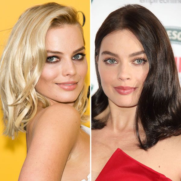 From blonde hair to dark brown. Getty Images -Cosmopolitan.com