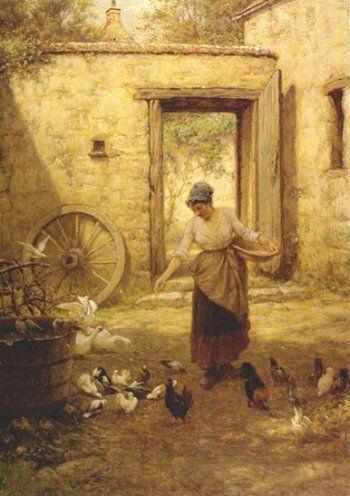 william john hennessy paintings | Irish Art Archive - William John Hennessy - Milmo-Penny Fine Art