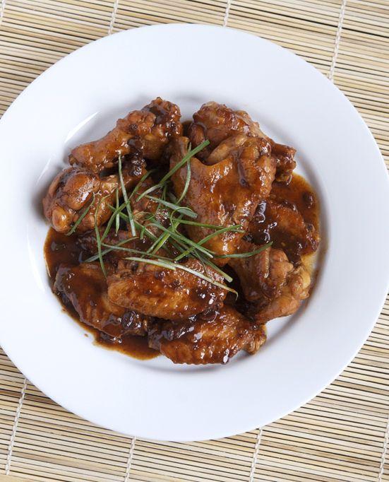Black Bean Chicken Wings