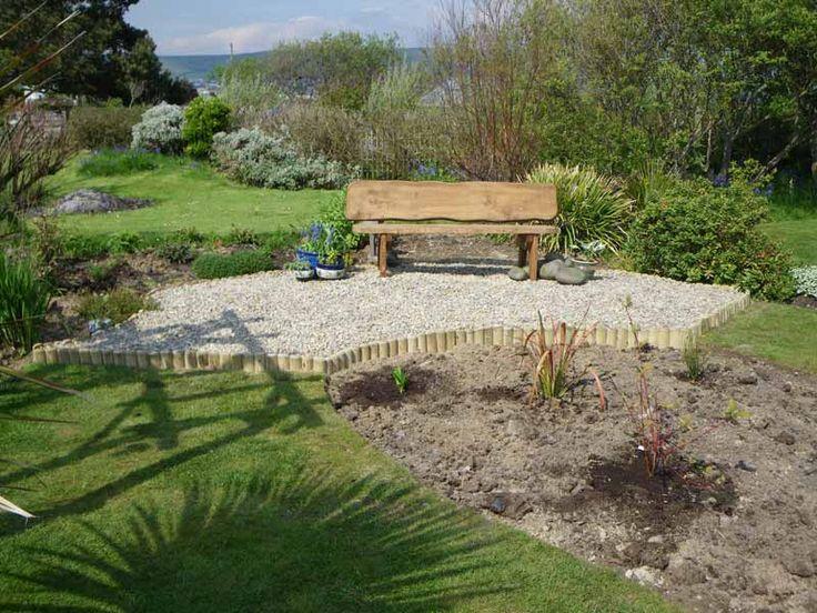 Garden seating area project ideas pinterest gardens for Garden area ideas