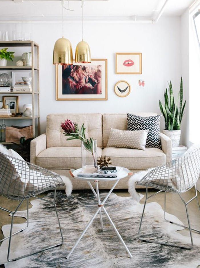 High & Low: Build a Transitional Modern Living Room On Any Budget