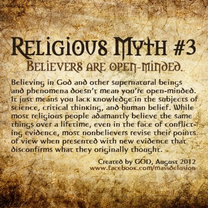 religion and word myth When you hear the word myth associated with the bible, what is the  the other  world religions also contain rich histories of mythology and.