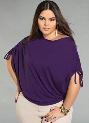 Los diseños que te voy enseñar de blusas para gorditas son modelos hermosos y elegantes para que puedas lucir radiante por su tendencia 2013