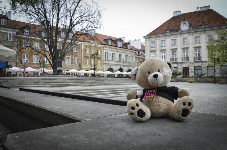 """Akcja """"Historia misia"""" w Warszawie  Fot. Paweł Jabłoński www.wosp.org.pl/historia_misia"""