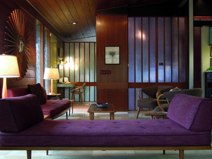 A Sensitive Restoration By Designer Josef Johns Of 1957 Pre Fabricated House