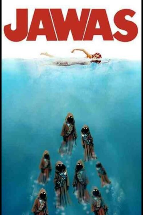 Rofl, that should be a Droid in the water hahah