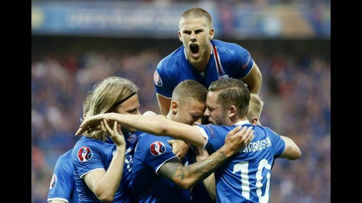 Сборная Исландии сенсационно обыграла сборную Англии на Евро 2016