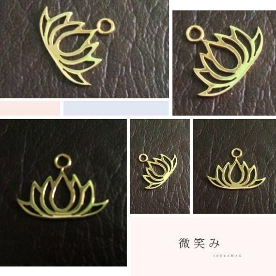 PRODUCT INFO:  Item code: CH557125 Name item: silver Lotus charm 19.95 x 15.65 mm with jumpring Full Name: 925 sterling silver Lotus charm 19.95 x 15.65 mm with jumpring Fabrication method: Handmade each item cut individually Style: Lotus Charm Dimension: 19.95 x 15.65 mm Tightness: 0.90 mm Rings/Loop inside dia.: jumpring 0.75 x 2.5 mm inside dia. Clusters/Balls/Accents: None Approximate weight for 6 pieces: 4.26 gram Country of origin: Indonesia Note: If you want the top jump...