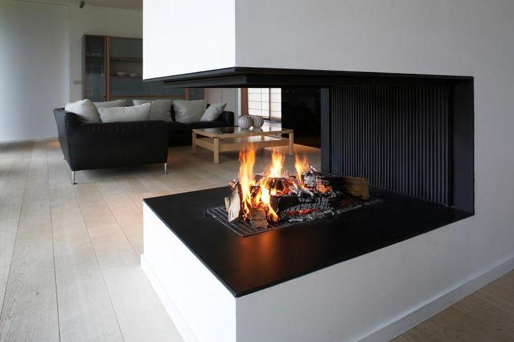 Metalfire Universal 3-zijdige houthaard | UW-haard.nl