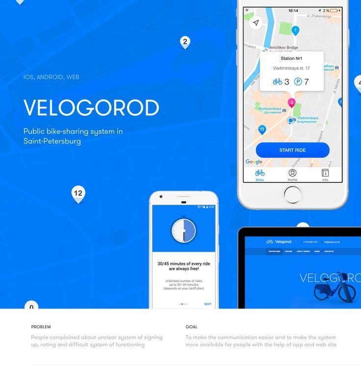 Velogorod on Behance