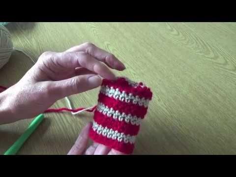 kleur wisselen haken rechtshandigen - YouTube
