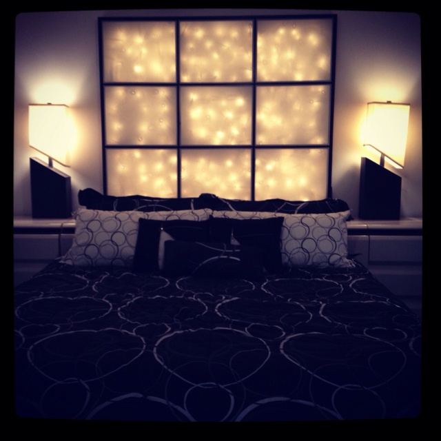 Lighted headboard my husband made for me! Thanks Pinterest - 21 Best Headboard Ideas Images On Pinterest Headboard Ideas