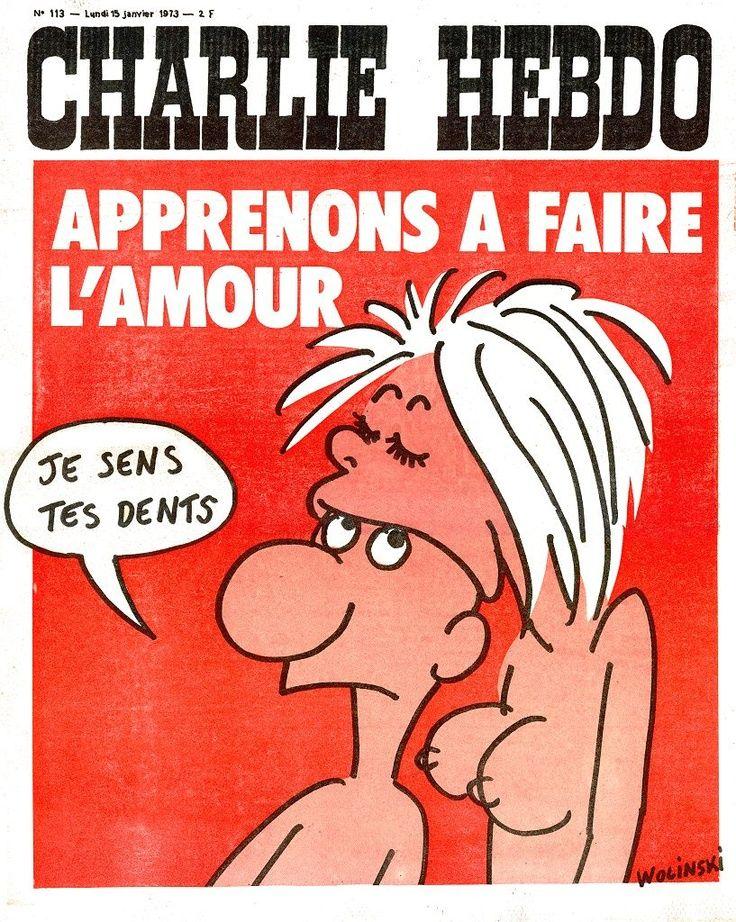 Charlie Hebdo - # 113 - 15 Janvier 1973 - Couverture : Wolinski