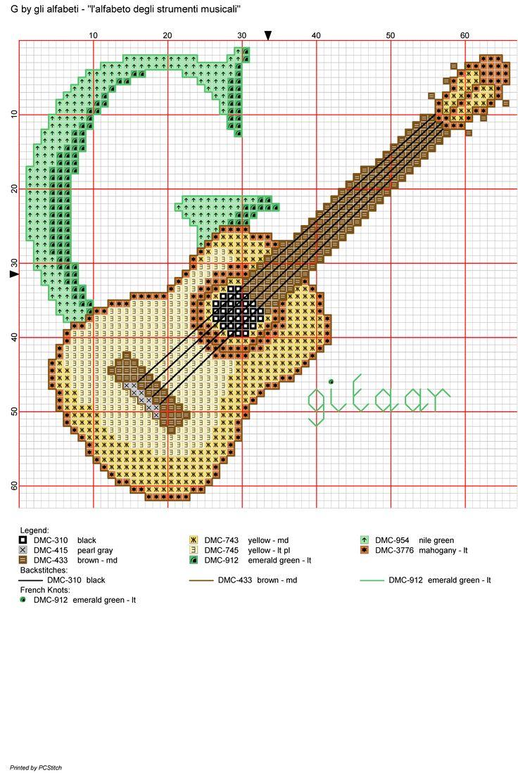 Alfabeto degli strumenti musicali: G: