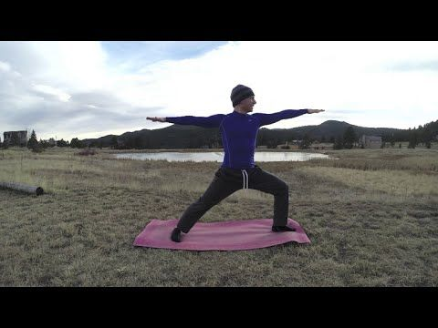 35 Min Sean Vigue Beginner Yoga Routine - HASfit Yoga for Beginners Yoga Workout - Yoga Exercises - YouTube