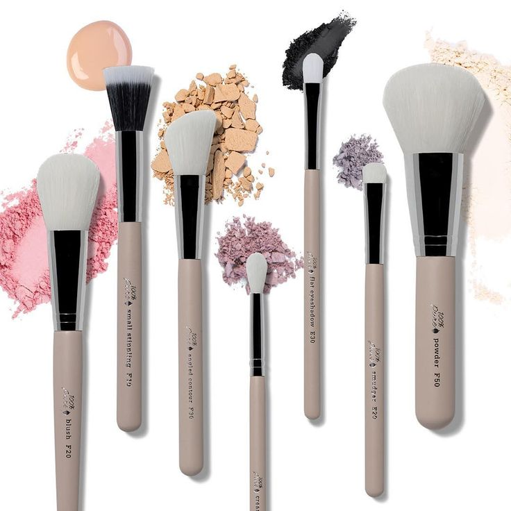 Did you know that your makeup brushes might be made from animal fur? 😳 Luckily, there are alternatives like our new collection made with taklon fibers. They're cruelty-free and are made from recycled plastic water bottles! These bristles are smooth and do not contain ridges or cuticle layers the way mammal hair and fur bristles do. This makes them non-absorbent, so they don't hold on to bacteria or old makeup. Yay for antibacterial brushes! Read more in our Cruelty-Free Brush Guide on the…