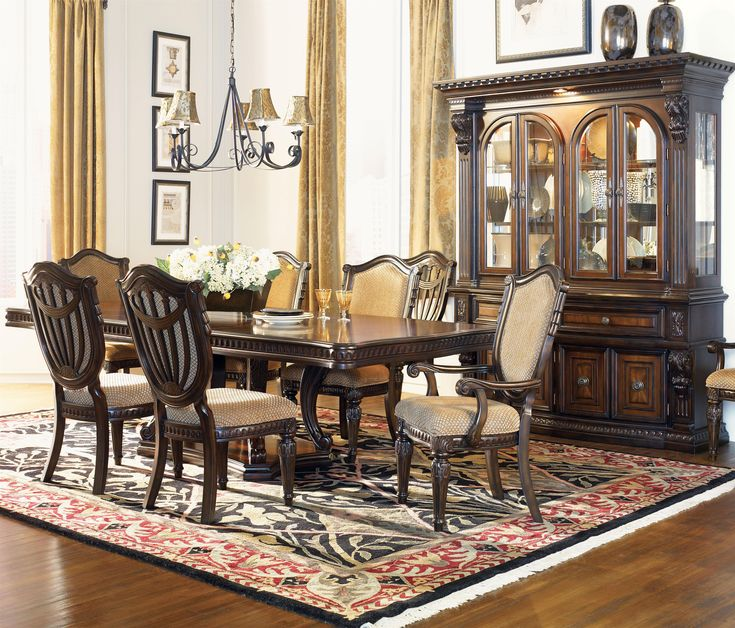 grand estates formal dining room group by fairmont designs