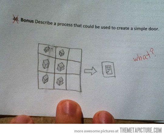 How to make a simple door