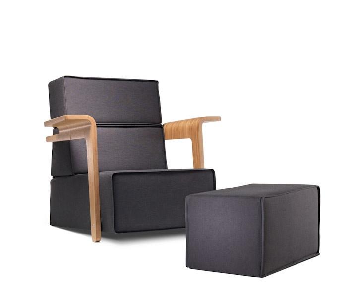 """Tomek Rygalik, """"Daybed"""", armchair. Photo by Bartek Górka i Ernest Wińczyk"""