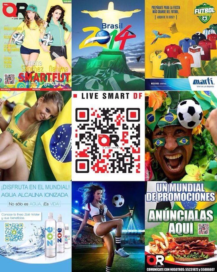 Preparados @PubliQR ! Todo listo para vivir un #MundialBrasil2014 #fifa #futbol @Selección Mexicana @QRaulRojas