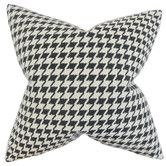 Found it at AllModern - Presley Houndstooth Throw Pillow