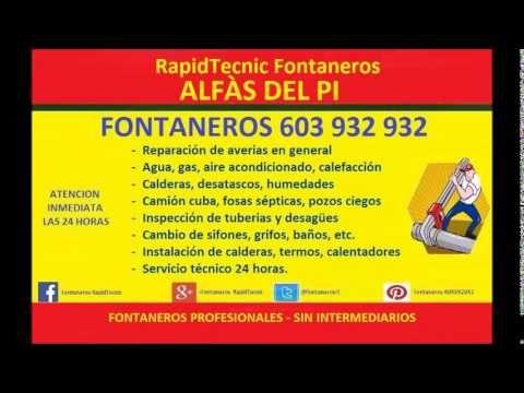 Fontaneros ALFAS DEL PI 603 932 932
