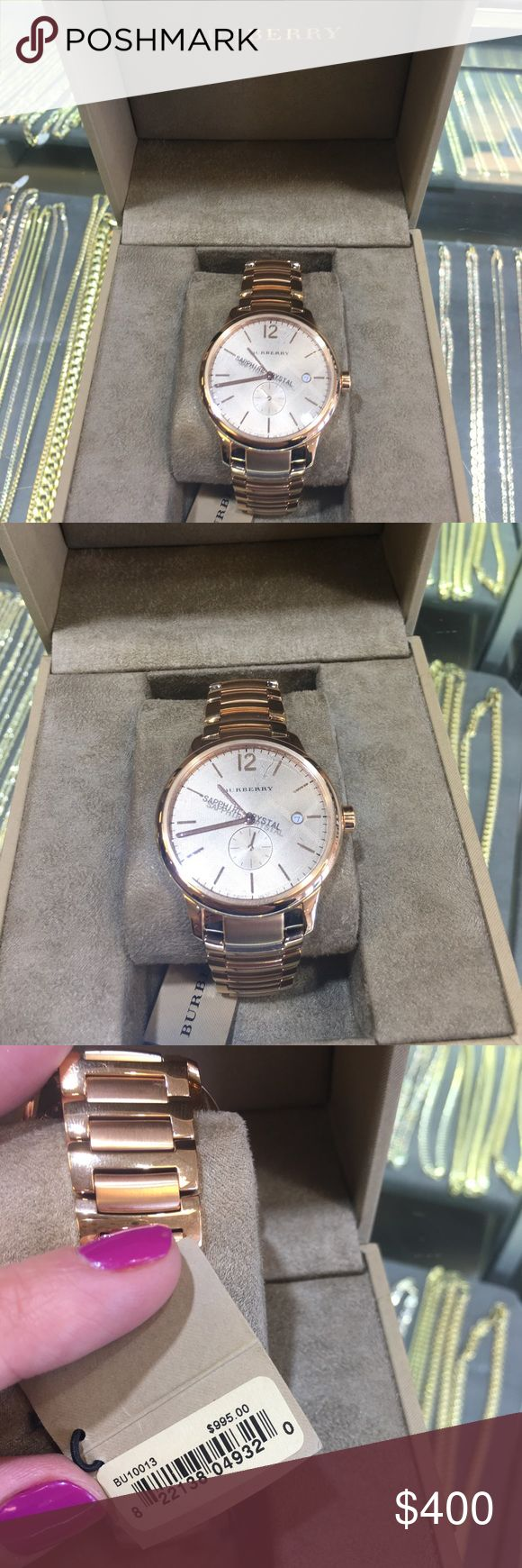 Burberry Men's Watch NEW IN BOX Burberry Men's Watch NEW IN BOX Burberry Accessories Watches