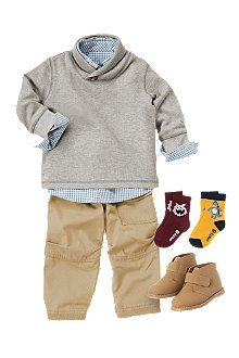 i wish Paxtons whole wardrobe was filled with clothes like these! iCrazy8.com - Baby Clothes, Infant Clothing and Baby Boy Clothing at Crazy 8