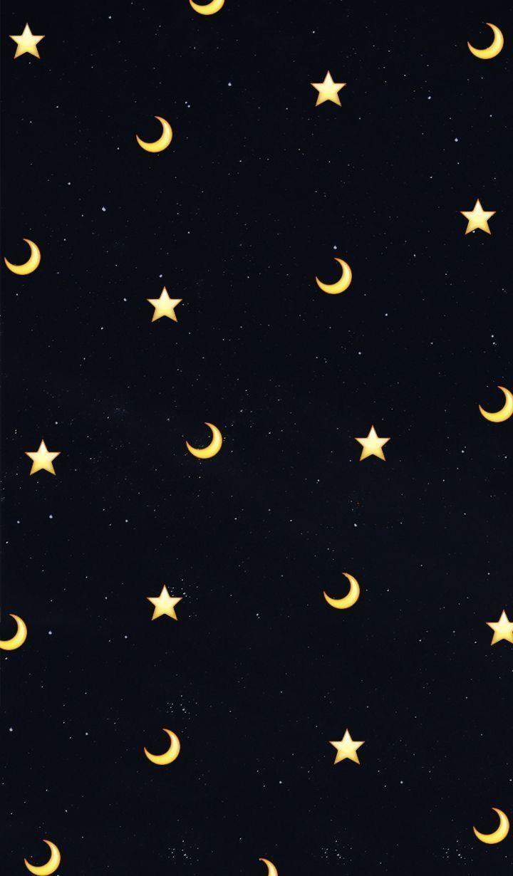 Moon And Star Phone Background Background Moon Phone Star Schlafzimmer Tu Backgr In 2020 Moon And Stars Wallpaper Emoji Wallpaper Star Wallpaper