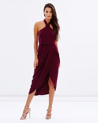 Buy Core Knot Dress by Shona Joy online at THE ICONIC. Free and fast delivery to Australia and New Zealand.