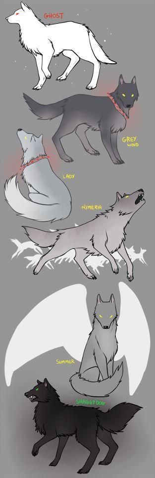 #direwolf cartoon <3