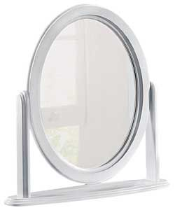 Buy Solid Pine White Oval Free Standing Mirror at Argos.co.uk - Your Online Shop for Mirrors.