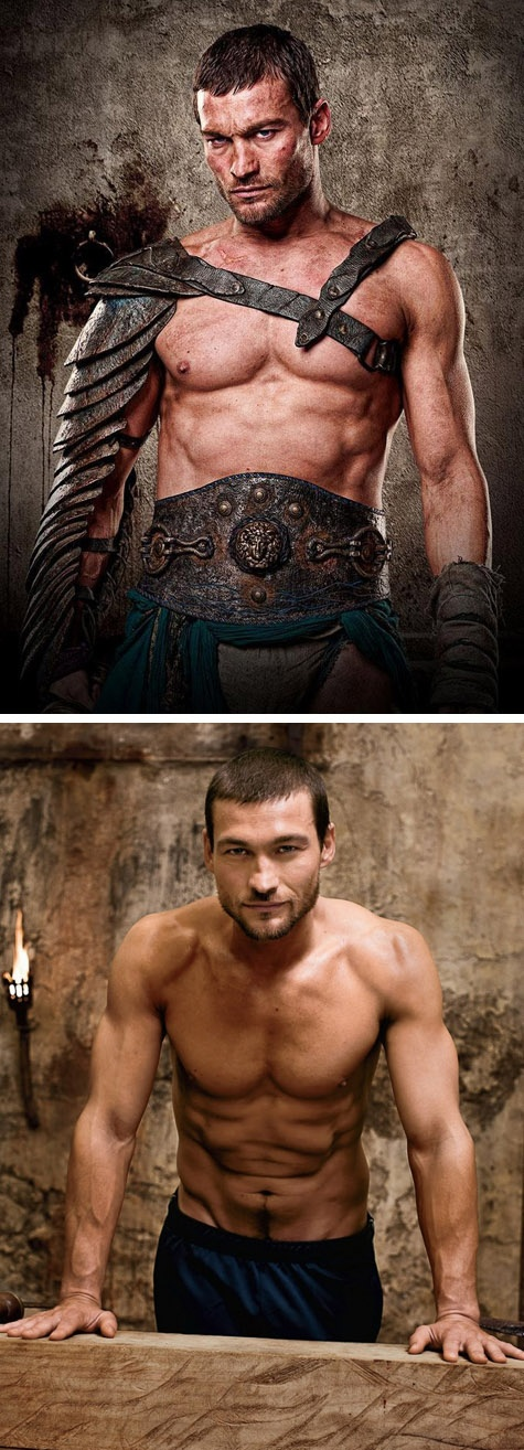 "Awesome actor.. very very sad that he was lost to the world. Join the Kickstarter campaign in memory of Andy: ""Be Here Now"" -- The Andy Whitfield Story kck.st/LBgeJ6"