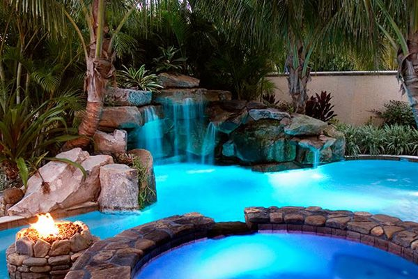 The Biggest Backyard Pool Ever : 1000+ images about Pools on Pinterest  Rectangular pool, Wall