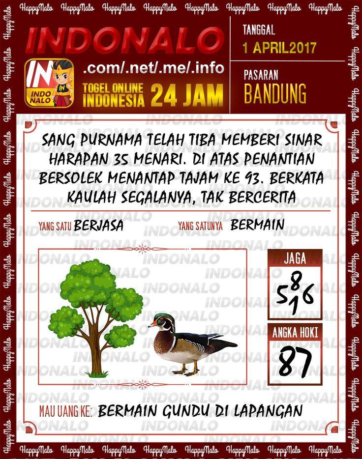 Angka JP 4D Togel Wap Online Indonalo Bandung 1 April 2017